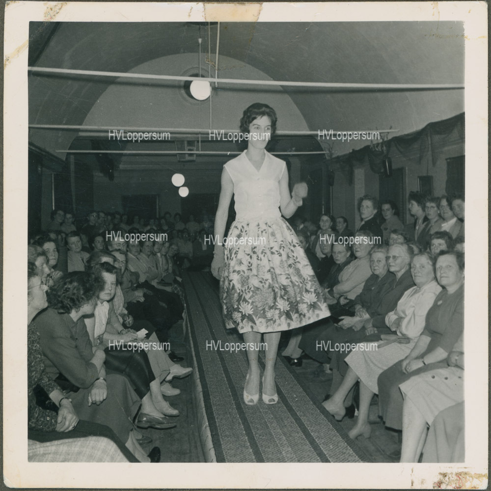 Modeshow in 1962