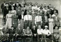 Groepsfoto landarbeidersbond CNV