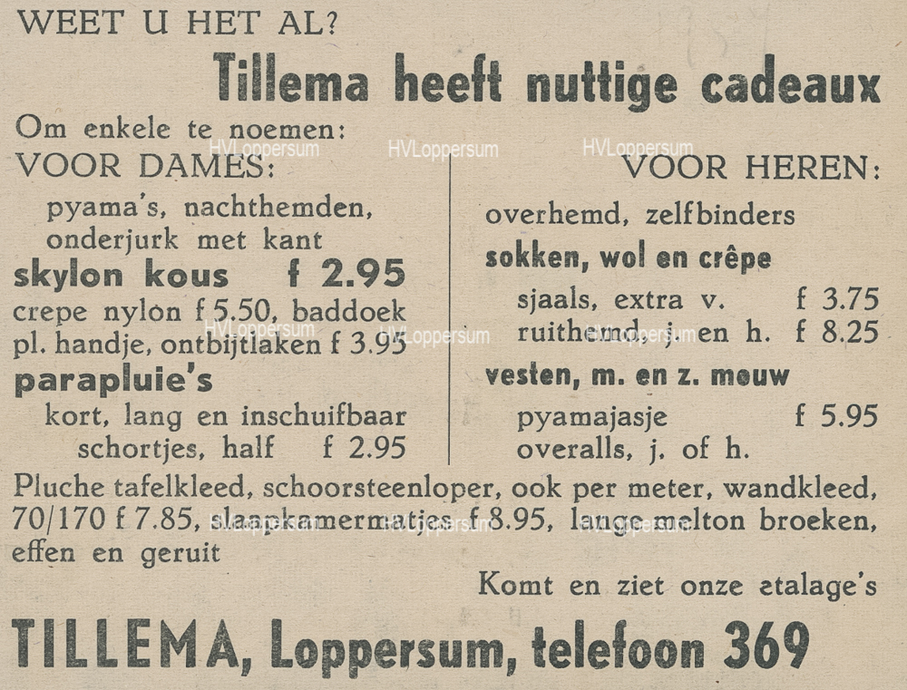 Manufacturen Tillema