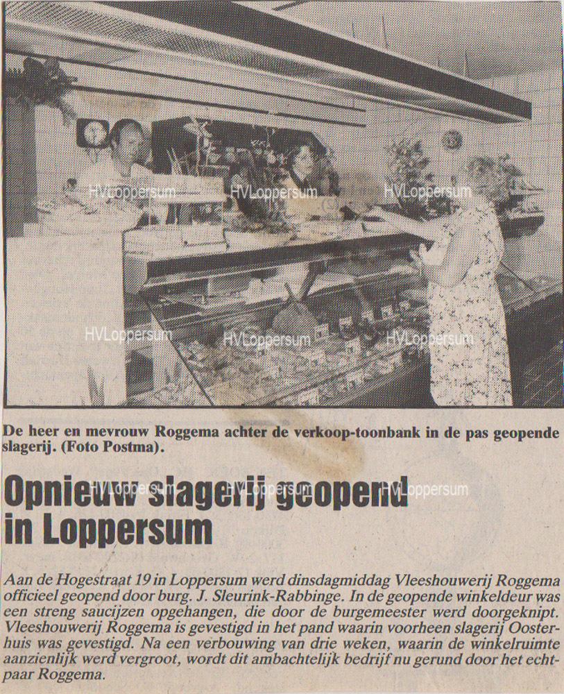 Slager Harm Roggema