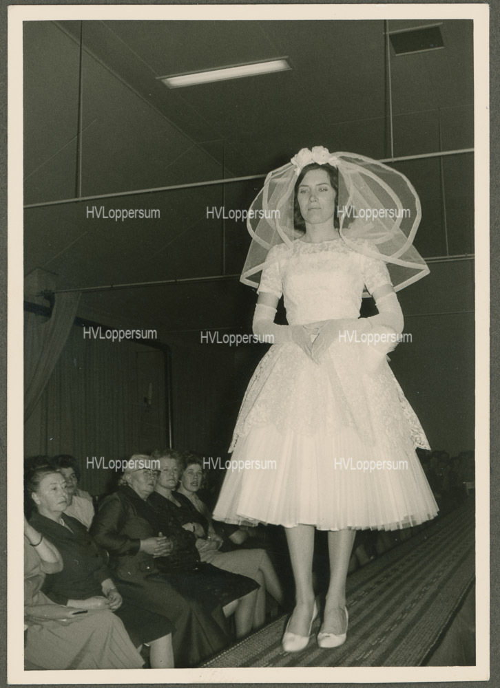 Modeshow in 1959