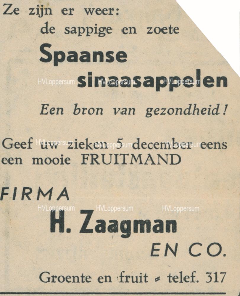 Groenteboer Harm Zaagman