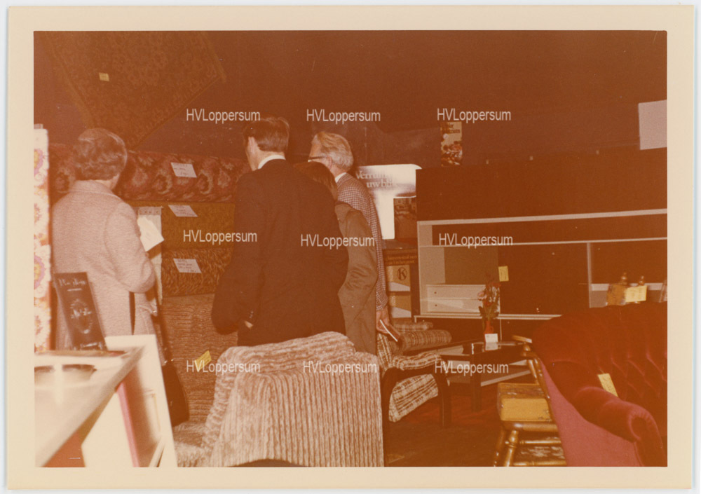 Verkoopshow in Cafe Sloots (1972)