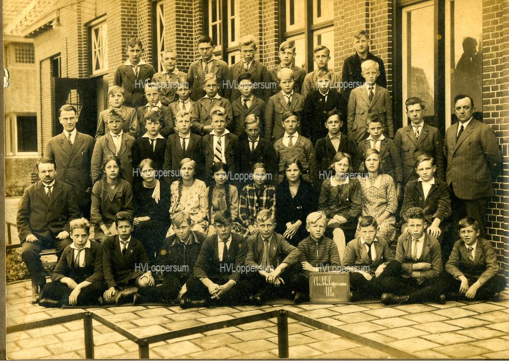 Klassenfoto ULO