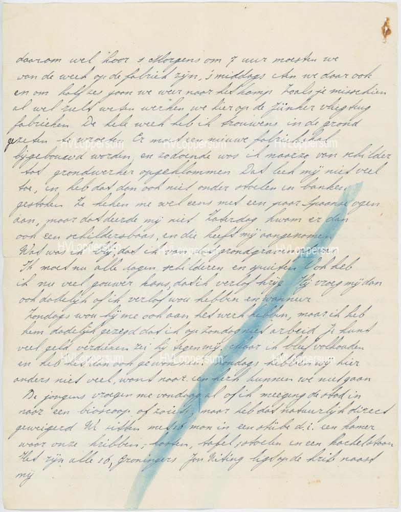 Brief van J.D.Jonkman.