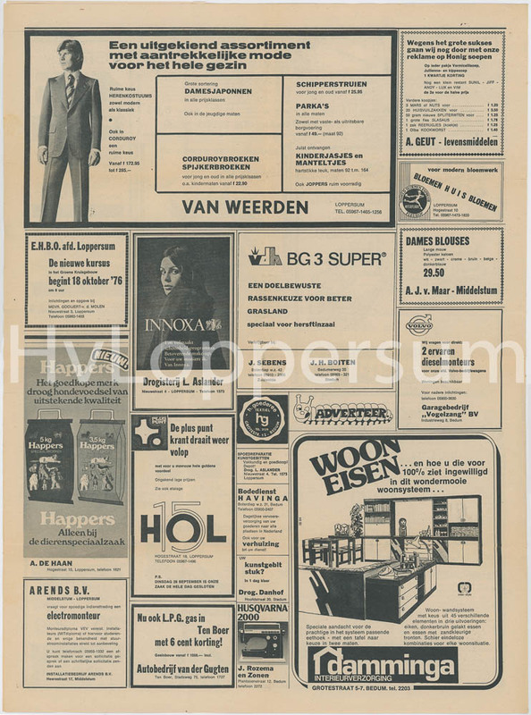 Noorderkrant van Donderdag 23 september 1976
