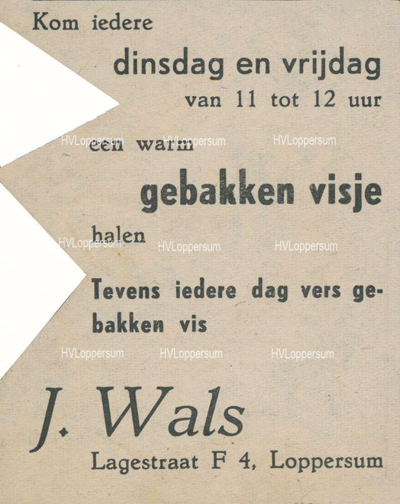 Cafetaria J. Wals
